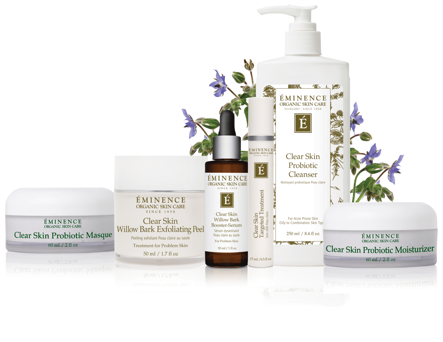 eminence-clear-skin-facial collection